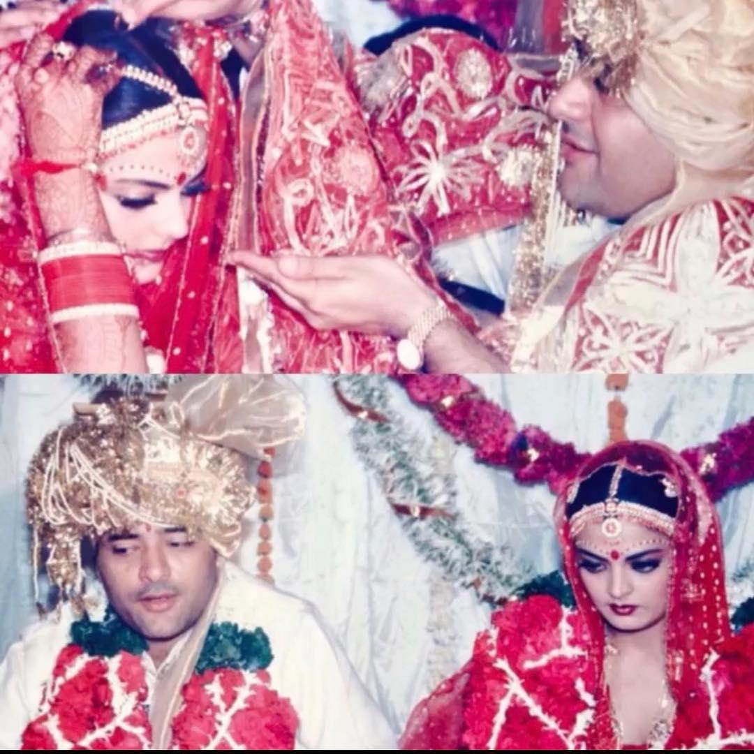 Sheeba Akashdeep Wedding Photo