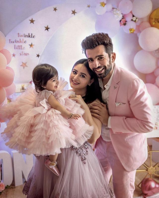 mahhi vij daughter first birthday