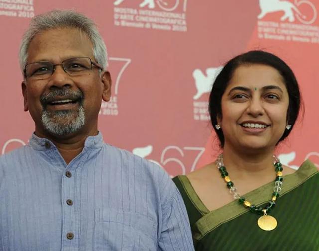 Mani Ratnam And His Wife Suhasini