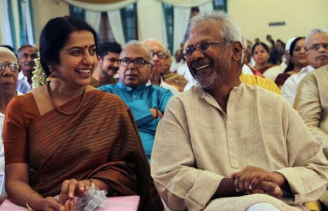 Mani Ratnam With His Wife Suhisini