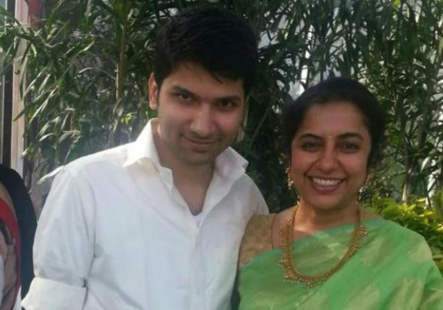 Suhasini Maniratnam With Her Son Nandhan