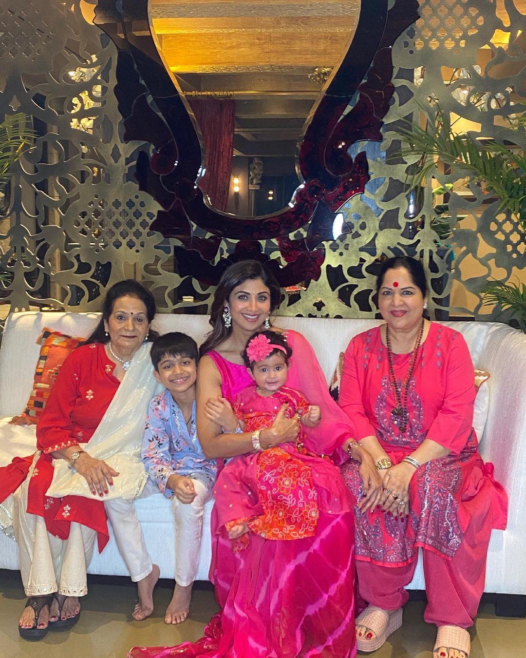 raj kundra shilpa Shetty family