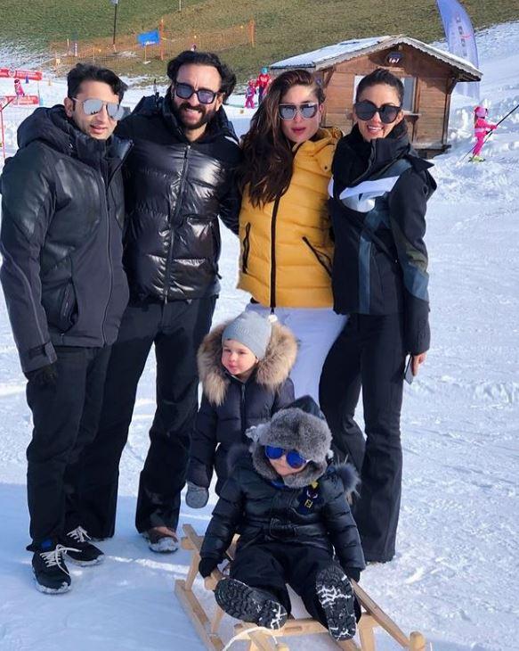 Kareena Kapoor And Saif Ali Khan Switzerland House