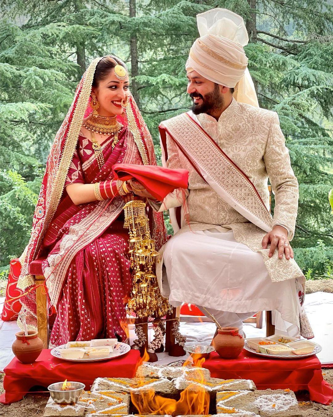 yami gautam wedding photo