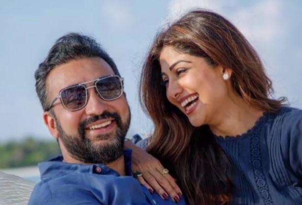 Shilpa Shetty With Husband Raj Kundra