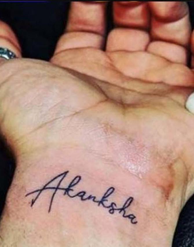 paras chhabra tattoo
