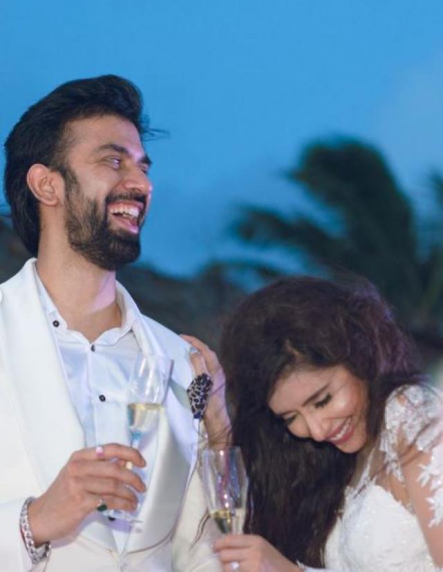 charu asopa and rajeev sen engagement