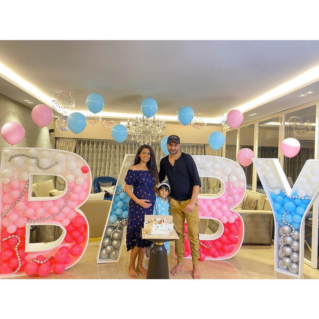 Geeta Basra Baby Shower Photos