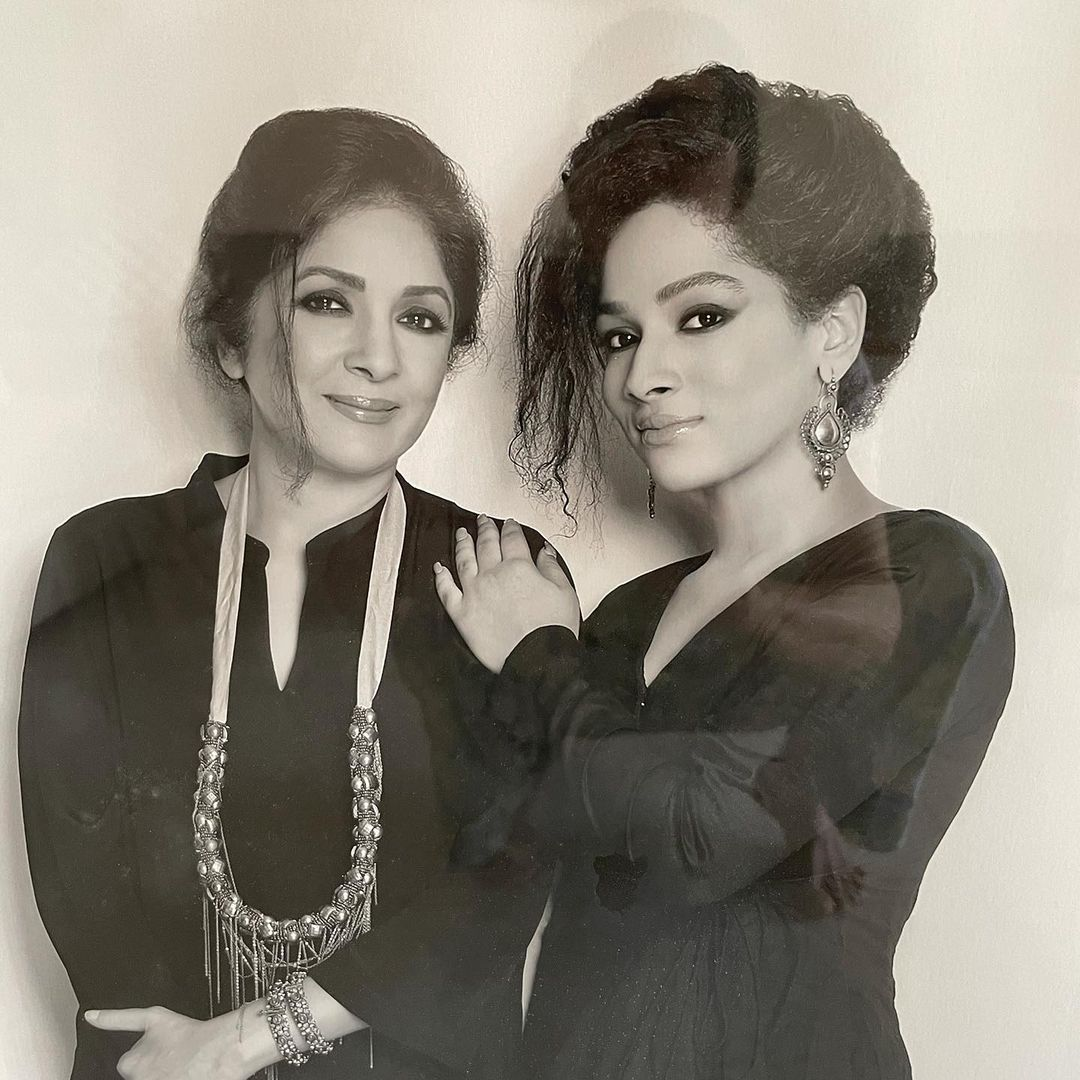 Neena Gupta With Daughter