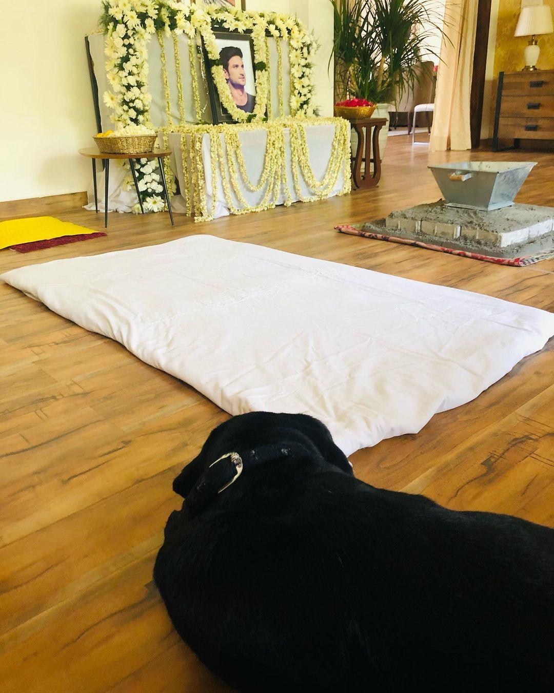 sushant singh rajput prayer meet
