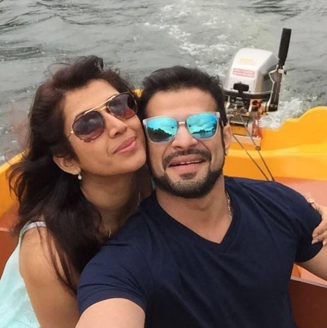 Karan Patel With Wife Ankita Bhargava