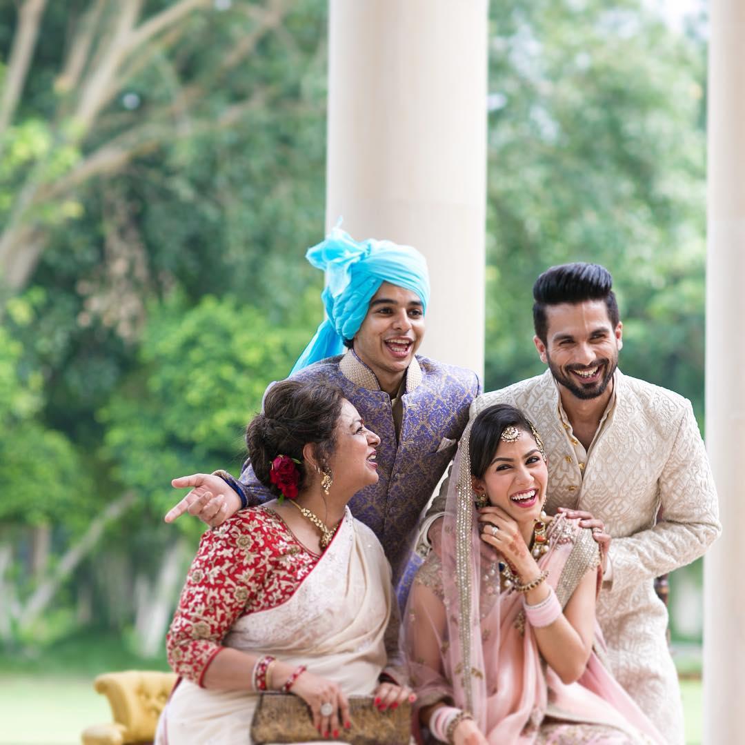 Mira Rajput Family