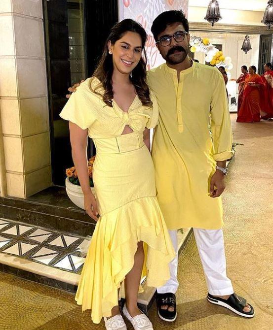 Ram Charan With Wife Upasana