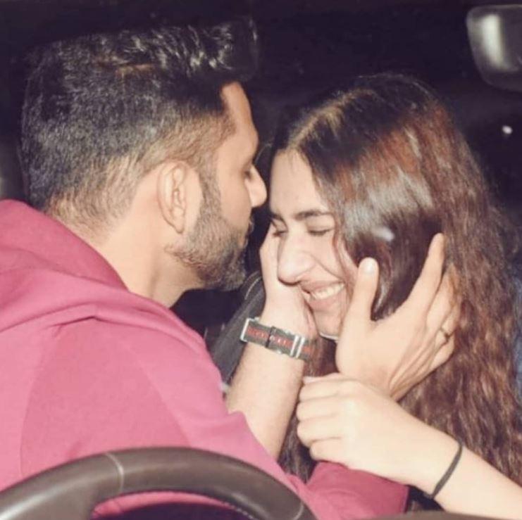 rahul vaidya with her girlfriend disha parmar