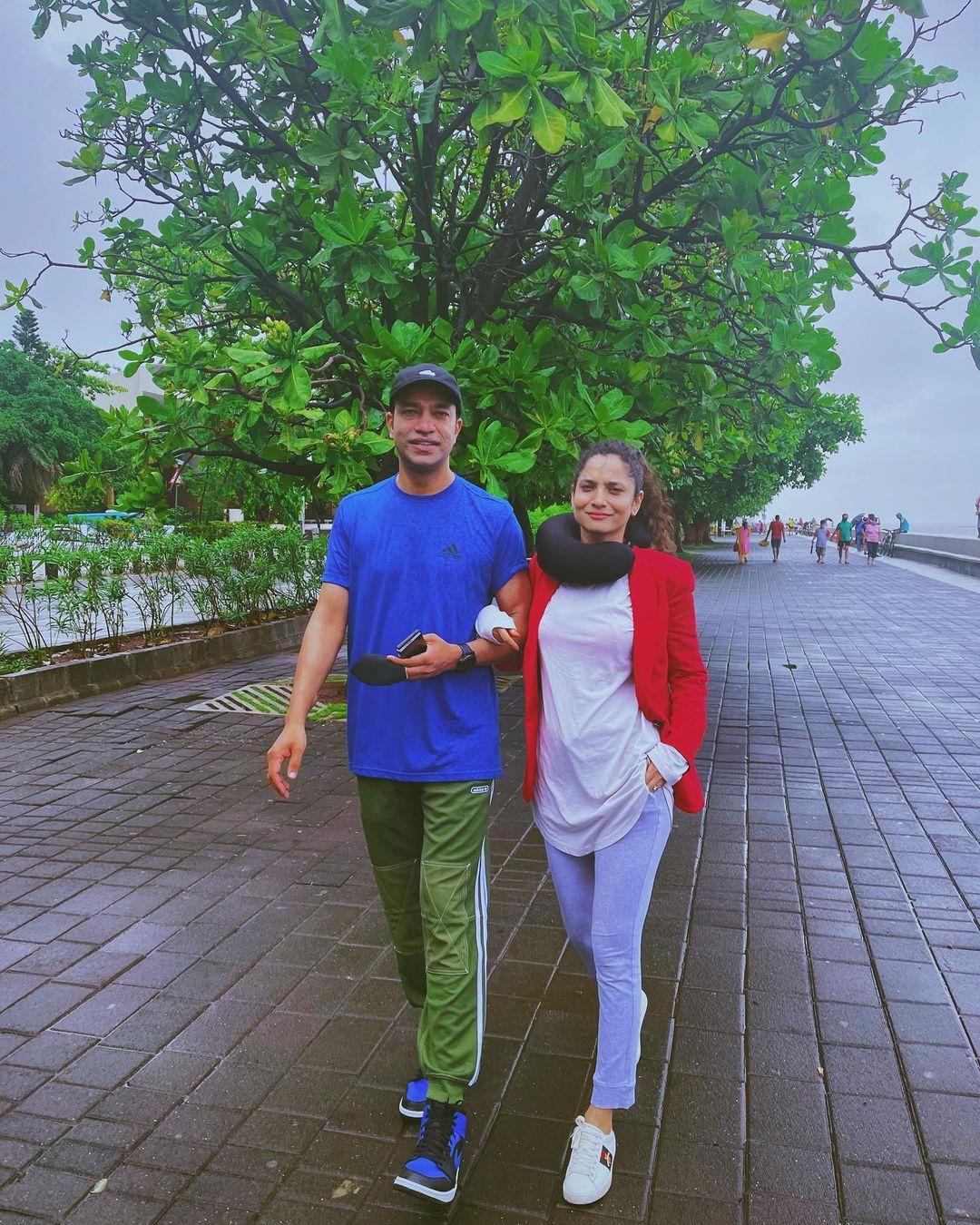 Ankita Lokhande And Vicky Jain