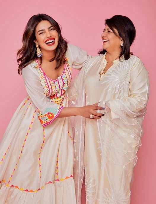 Priyanka Chopra With Her Mother