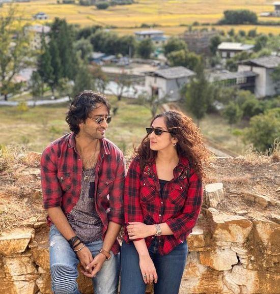 Shaheer Sheikh With His Wife Ruchikaa Kapoor