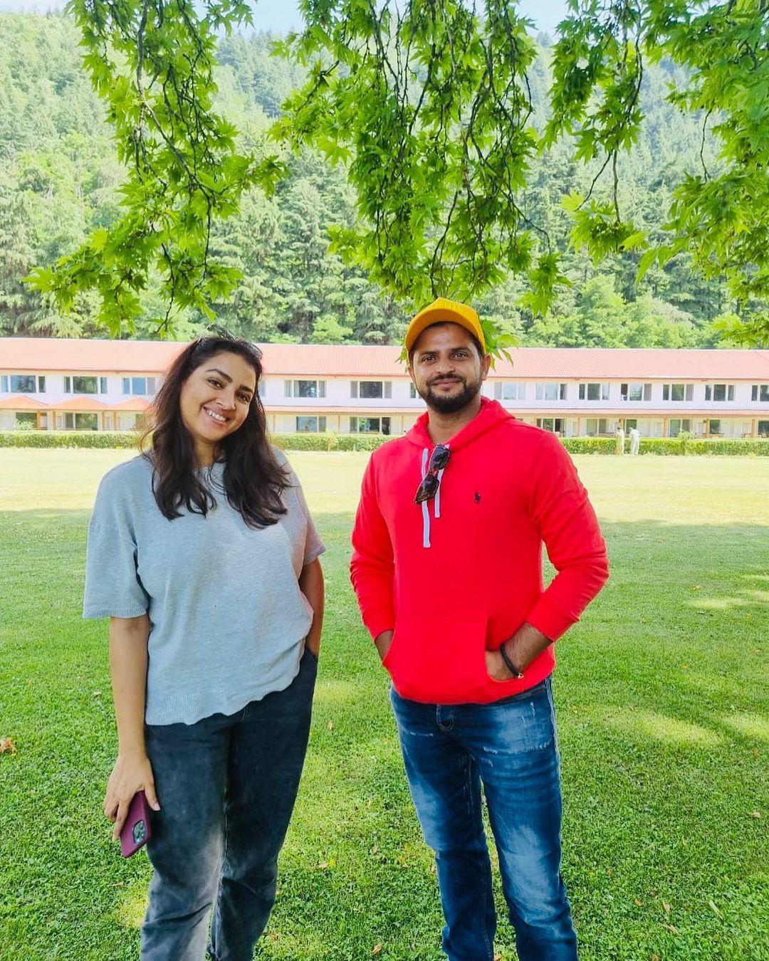 Suresh Raina Priyanka Chaudhary