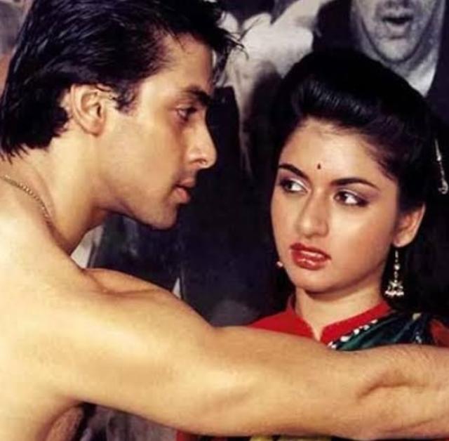 bhagyashree with salman khan