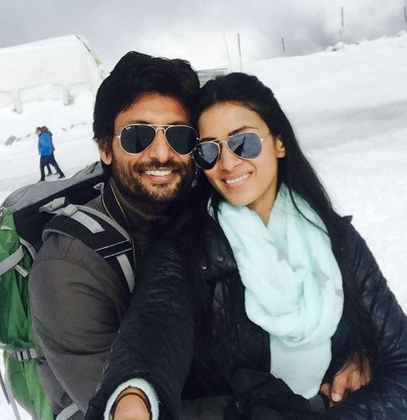Barkha With Husband Indraneil Sengupta