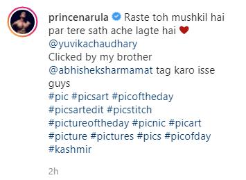 prince narula latest photos