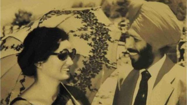 Milkha Singh With His Wife Nirmal Kaur