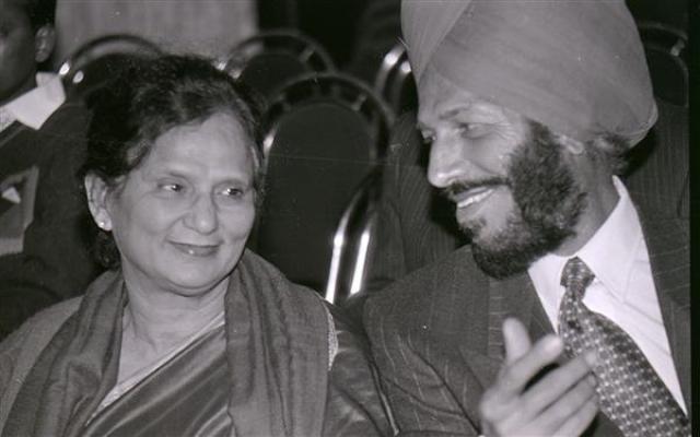 Milkha Singh With Wife Nirmal Kaur