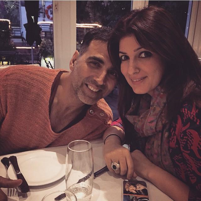 Akshay Kumar With Twinkle Khanna