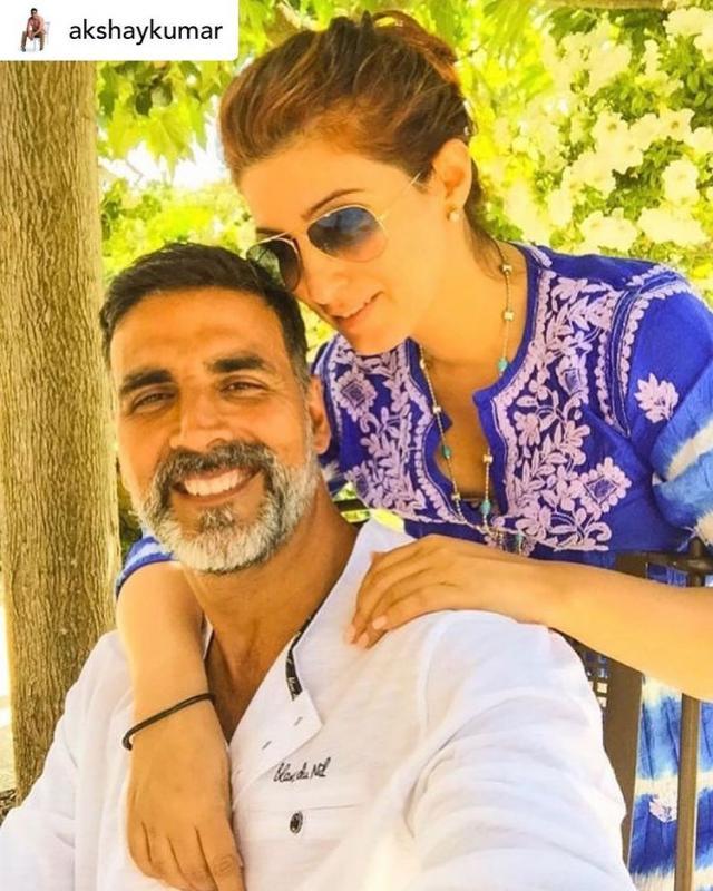 Akshay Kumar With Wife Twinkle Khanna