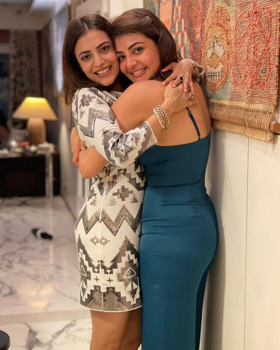 kajal aggarwal and nisha aggarwal