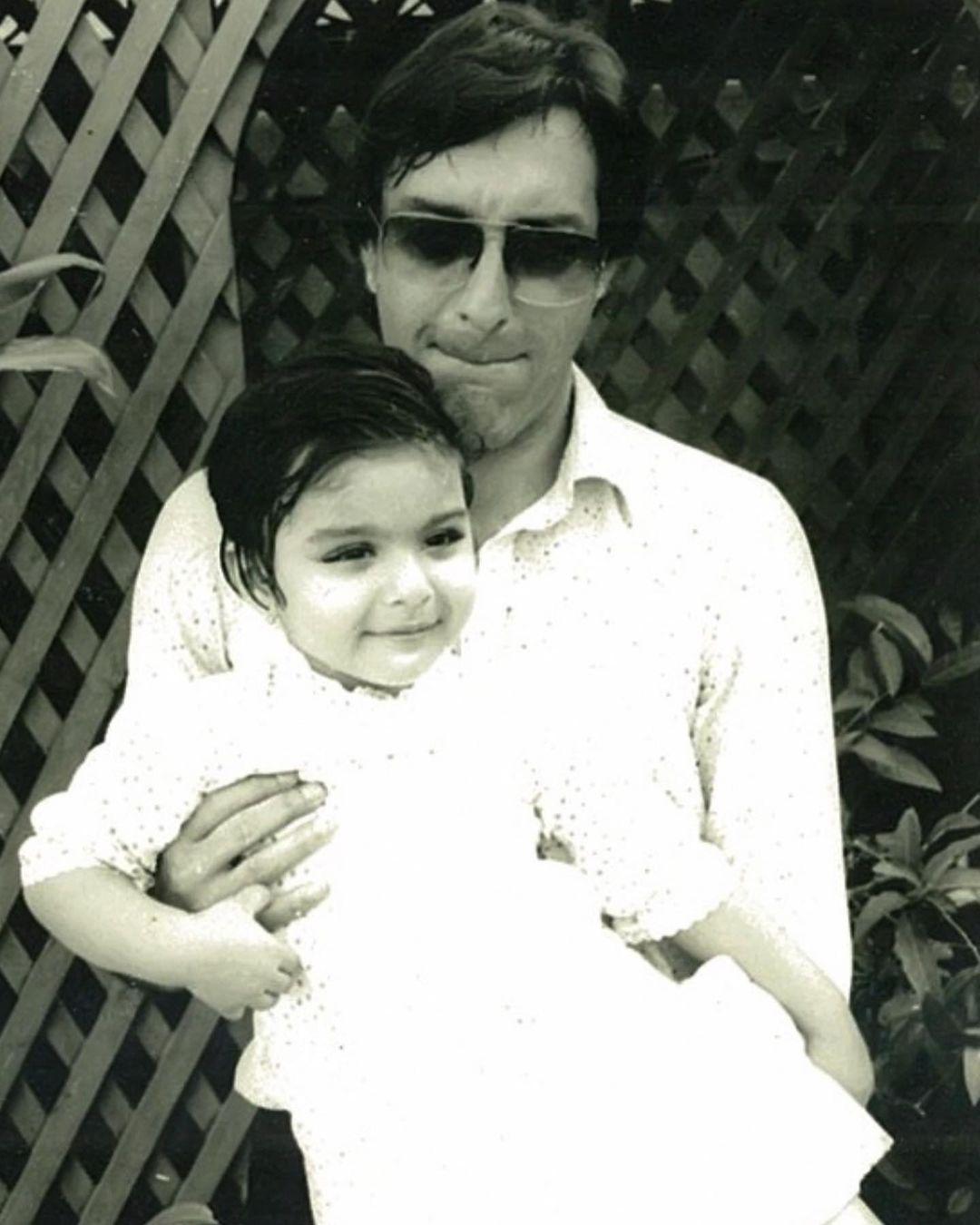 soha ali khan with mansoor ali khan pataudi