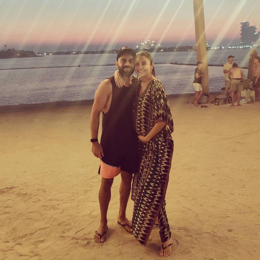 Anushka Sharma With Virat Kohli