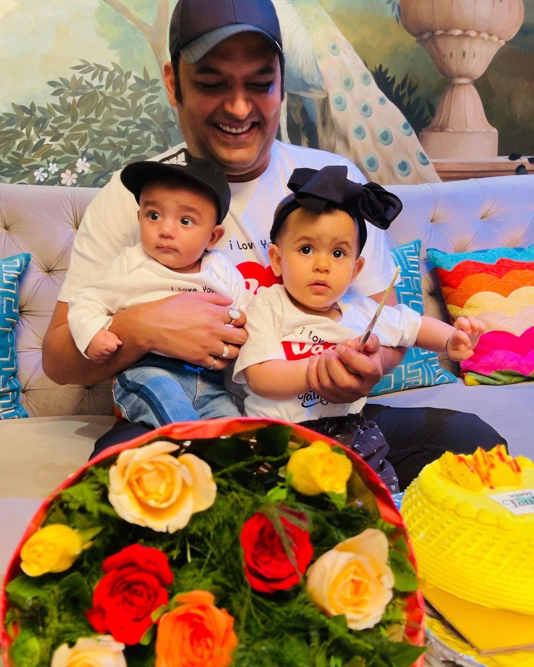 Kapil Sharma With Kids