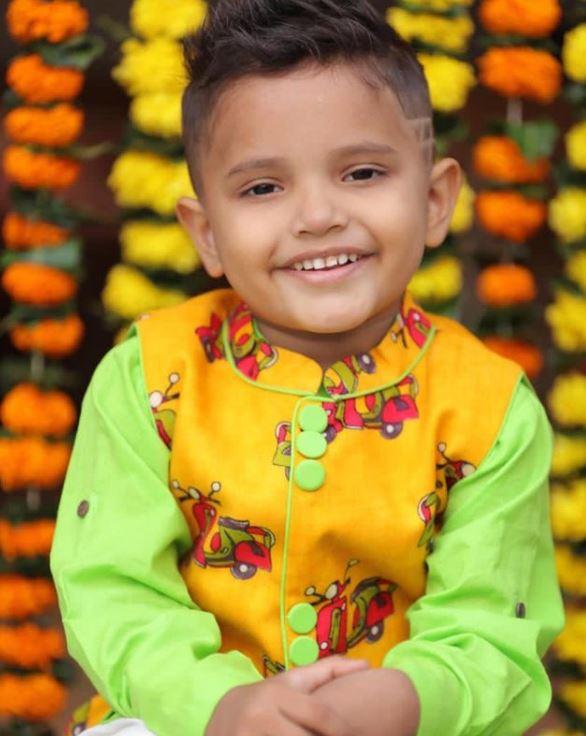 Mahhi Vij And Jay Bhanushali Adopted Son Rajveer