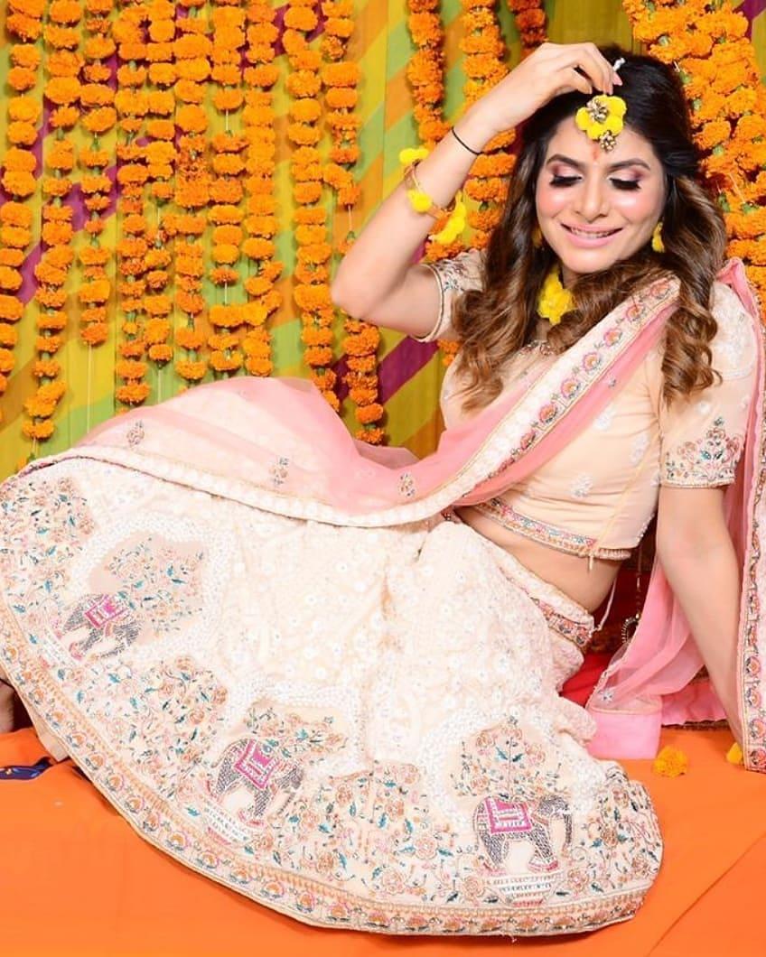 Isha Anand Sharma Haldi Ceremony Photo