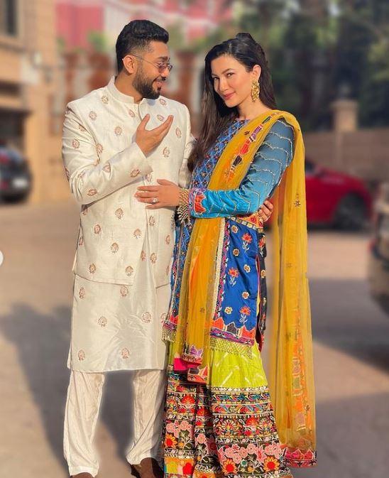 Gauhar Khan With Husband Zaid Darbar