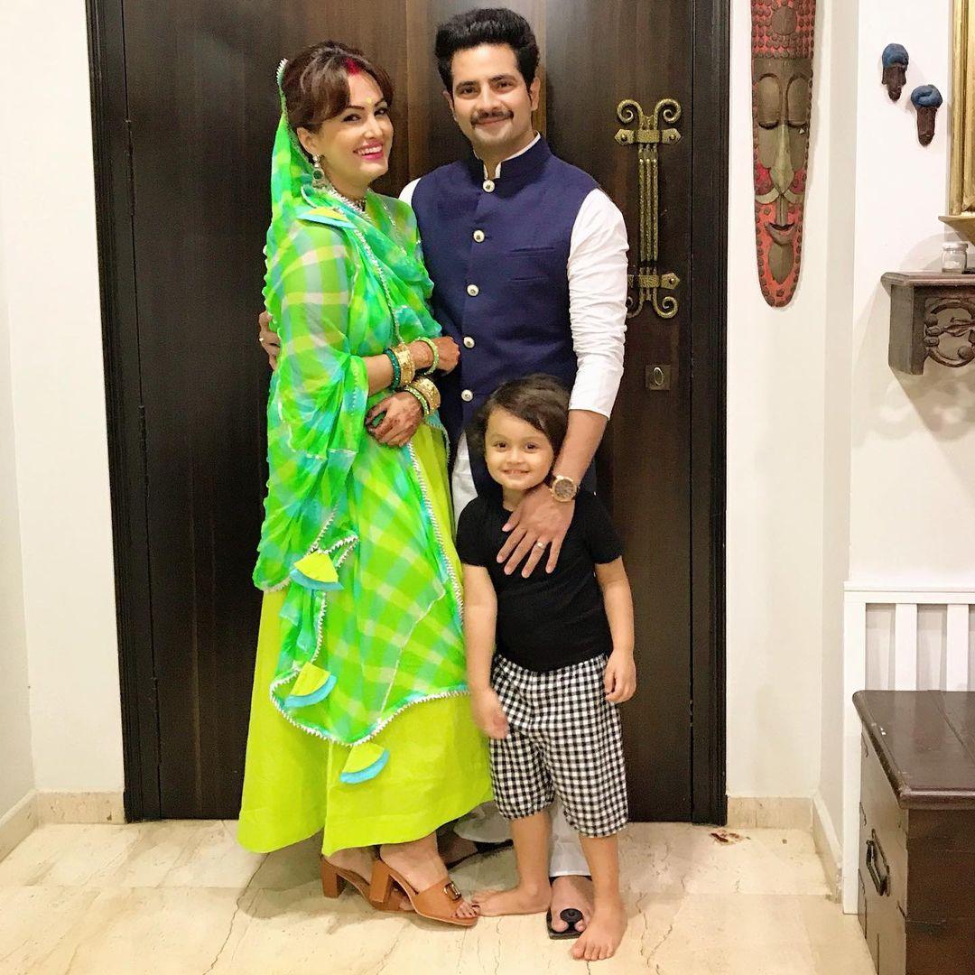 nisha rawal and karan mehra video