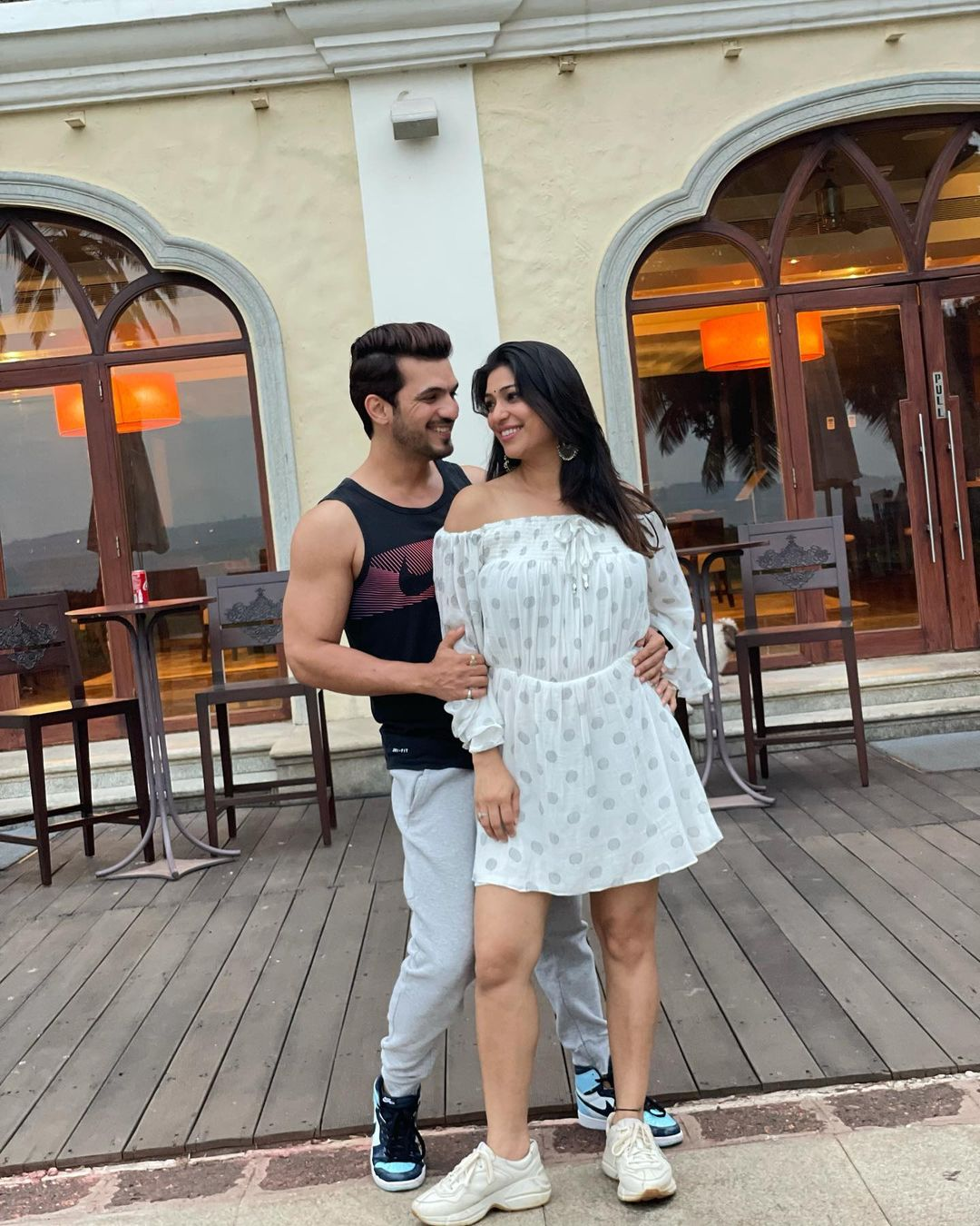 Arjun Bijlani With Wife Neha Swami