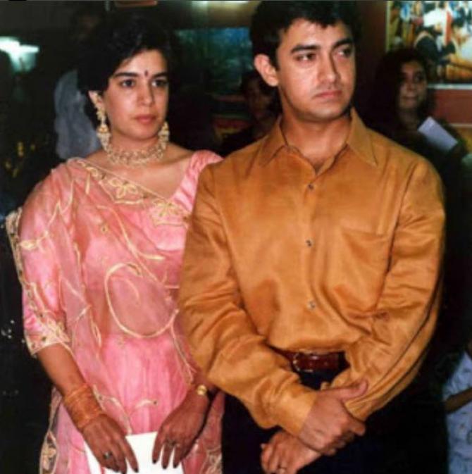 aamir khan and reena dutta