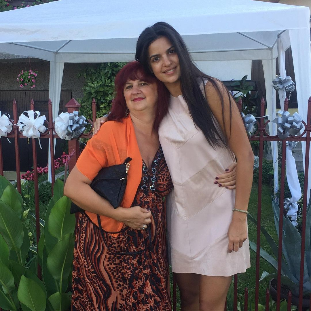 Natasa Stankovic With Mother