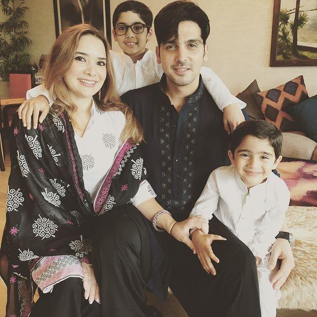zayed khan family