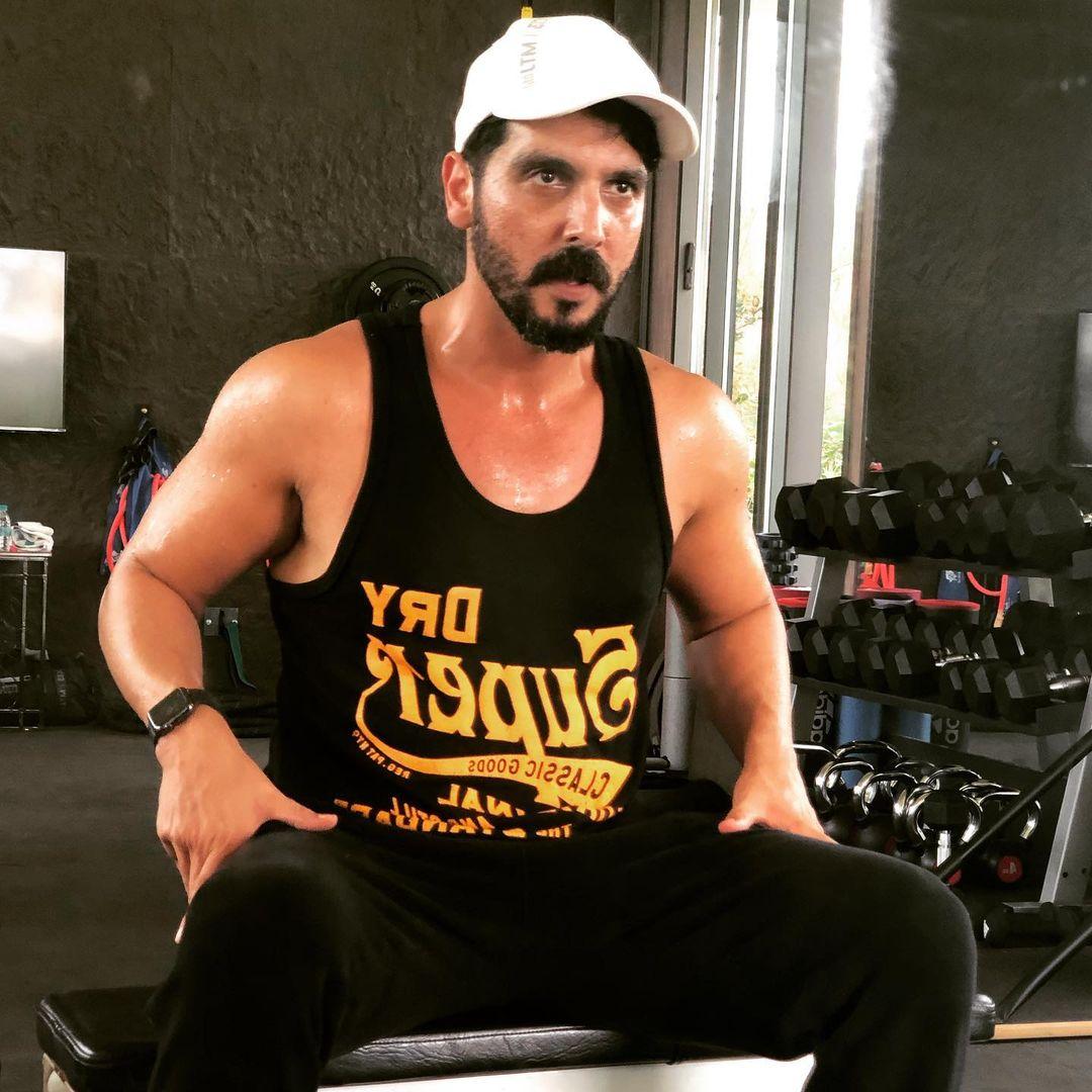 zayed khan new look
