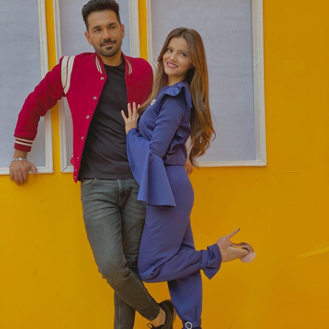 Rubina Dilaik With Husband Abhinav Shukla