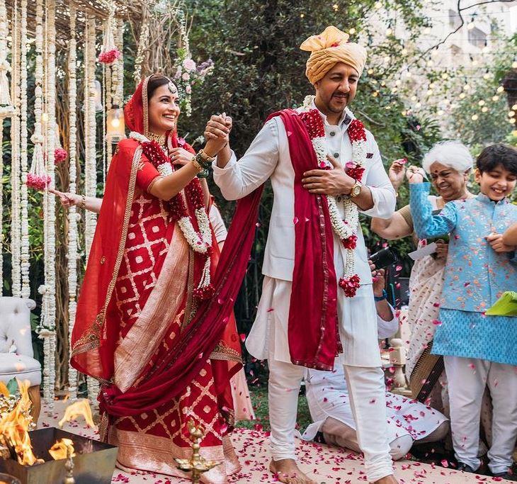 Dia Mirza With Husband Vaibhav Rekhi