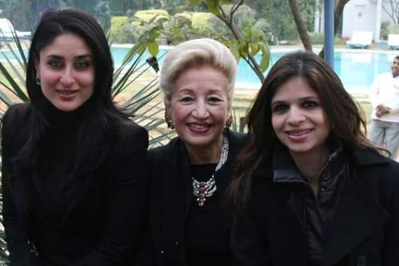 Saba Ali Khan With Sister In Law Kareena Kapoor