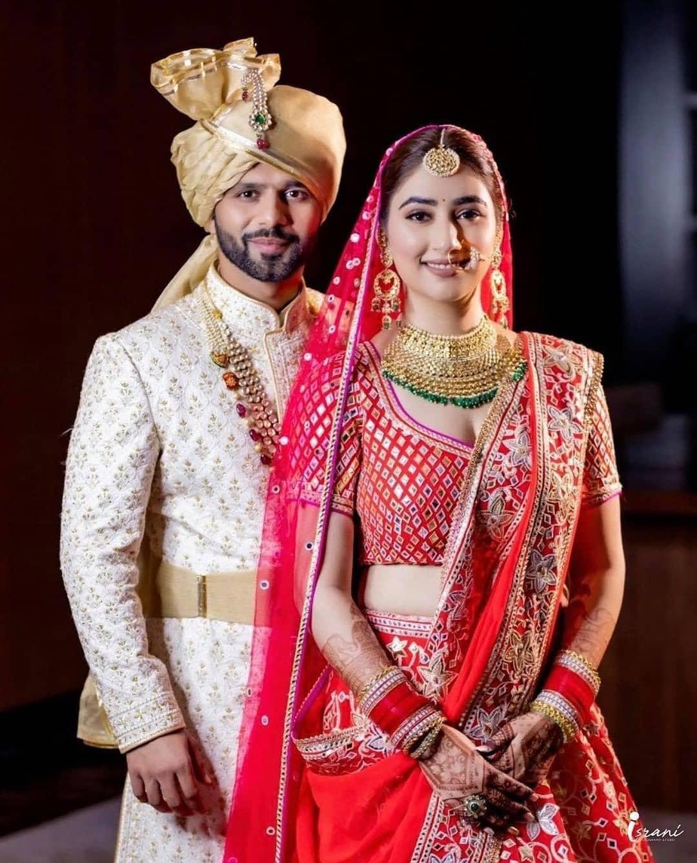 disha parmar wedding look