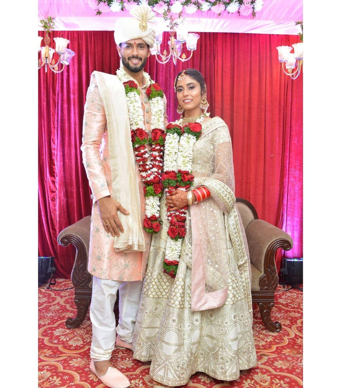 Shivam Dube Marriage Photo