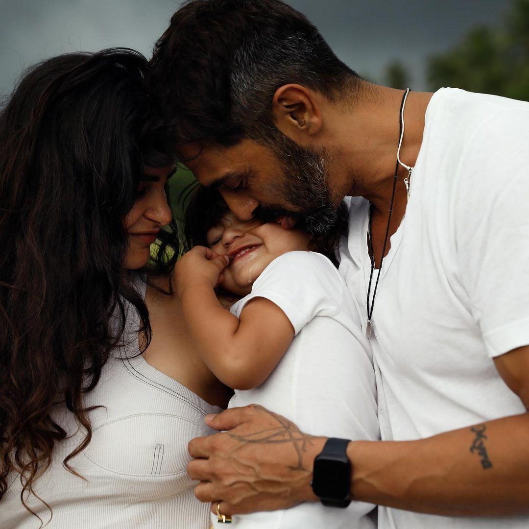 Arjun Rampal With Son Arik Rampal