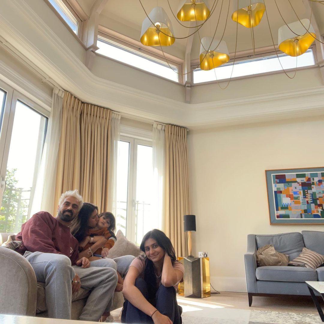 Arjun Rampal Family