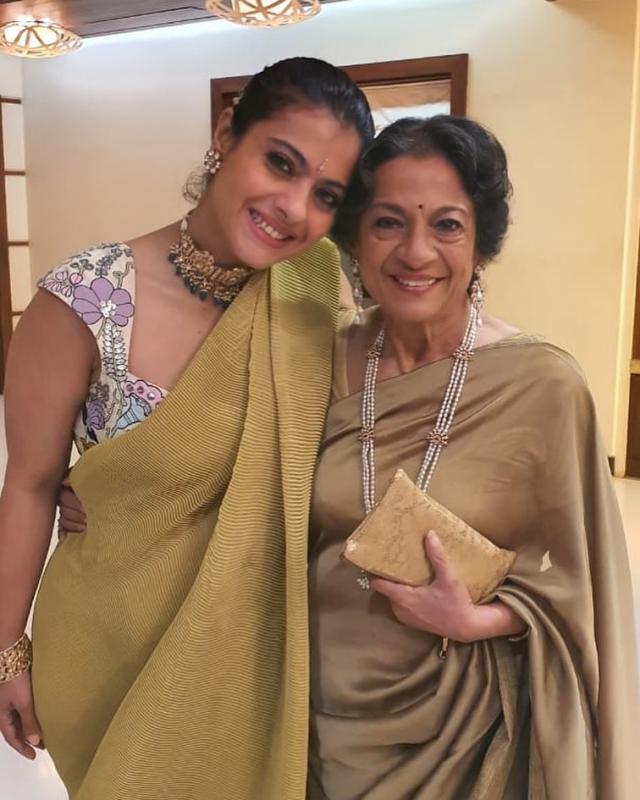 Kajol With Mother Tanuja